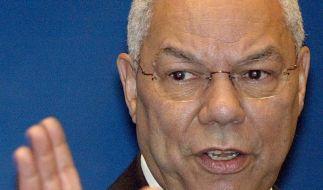 Colin Powell: Mit Handy-Kamera auf Toilette verfolgt (Foto)