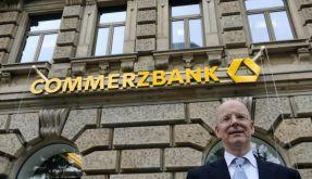 Commerzbank führt neues Logo ein. (Foto)
