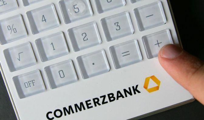 Commerzbank will Kapitalloch ohne Staatshilfe stopfen (Foto)