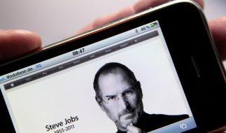 Computer-Visionär Steve Jobs ist tot (Foto)