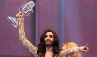 Conchita Wurst hat gewonnen. (Foto)