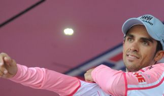 Contador trotz Clenbuterol-Affäre selbstbewusst (Foto)