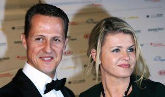 Corinna Schumacher mit ihren Mann Michael im November 2012 beim Deutschen Sportpresseball in Frankfurt am Main. (Foto)