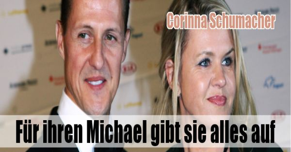 corinna schumacher f r ihren michael gibt sie alles auf. Black Bedroom Furniture Sets. Home Design Ideas