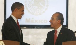 CORRECTION Mexico US Obama (Foto)