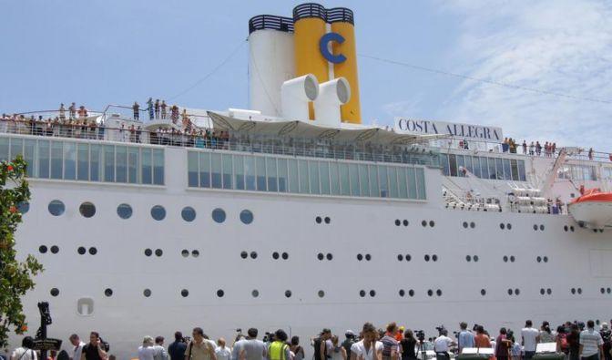 «Costa Allegra» legt auf Seychellen an (Foto)