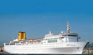 Costa Allegra vor den Seychellen havariert (Foto)