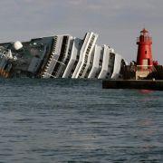 29 Passagiere des Kreuzfahrtschiffes «Costa Concordia» gelten noch als vermisst. Eine der bisher geborgen Leichen wurde als Deutscher identifiziert.