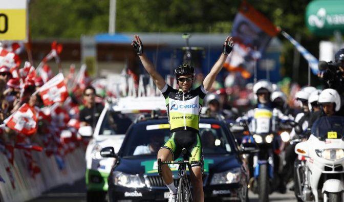 Costas Vorsprung bei der Tour de Suisse geschmolzen (Foto)