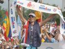 Craig Alexander erreicht nach mehr als acht Stunden das Ziel auf Hawaii. (Foto)