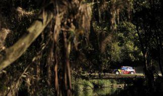 Crashs von WM-Spitzenreiter Loeb und Ogier (Foto)