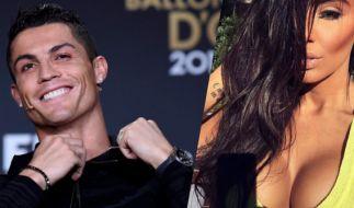 Cristiano Ronaldo und seine angeblich neue Freundin Nikoleta Lozanova. (Foto)