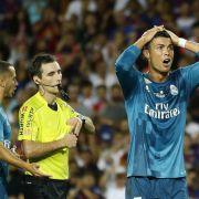 Ronaldo trifft und fliegt! Real siegt gegen Barca (Foto)