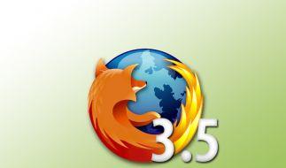 Da: der Firefox 3.5. (Foto)