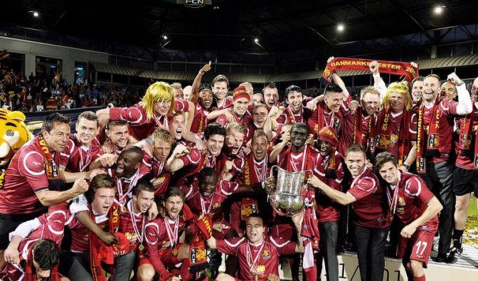 Dänische Fußballzwerge wollen Champions League erobern (Foto)