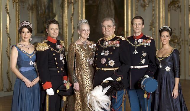 Dänische Königsfamilie (Foto)