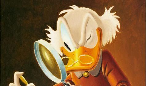 Dagobert Duck (Foto)