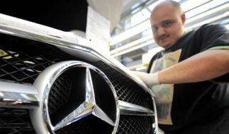 Daimler-Autoabsatz 2011 gut wie nie (Foto)