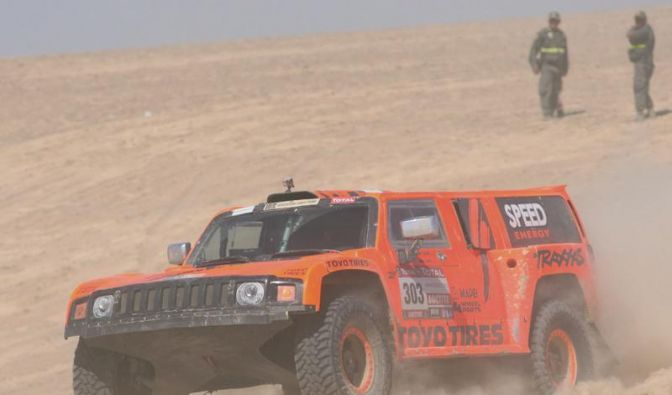 Dakar: Dünen bremsen Peterhansel - Gordon-Sieg (Foto)