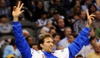 Dallas Mavericks feiern fünften Sieg in Serie (Foto)
