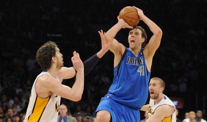 Dallas verliert knapp bei den LA Lakers (Foto)