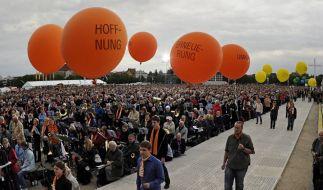 «Damit ihr Hoffnung habt» lautet das Motto des Ökumenischen Kirchentags in München. (Foto)
