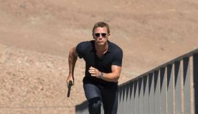 Daniel Craig trotzt als oo7 dem Tod und jeder physikalischen Notwendigkeit. (Foto)