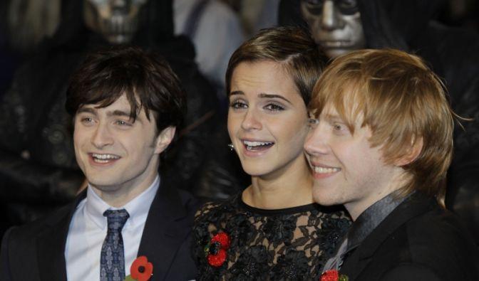 Daniel Radcliffe, Emma Watson und Rupert Grint  (Foto)