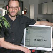 Nur ein Pseudonym: Wikileaks-Sprecher Daniel Schmitt.