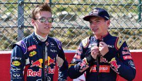 Daniil Kwjat bei Red Bull verbannt. (Foto)