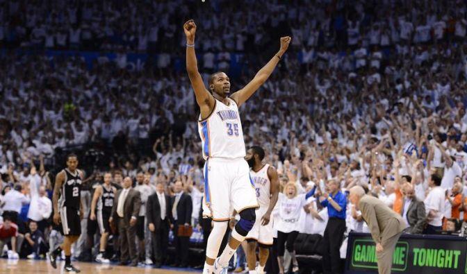 Dank Kevin Durant: Oklahoma im NBA-Finale (Foto)