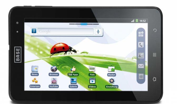 Das Base Tab 7.1 ist Telefon und Tablet in einem. (Foto)