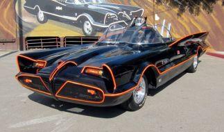 """Das Batmobil aus der """"Batman""""-TV-Serie von 1966. (Foto)"""