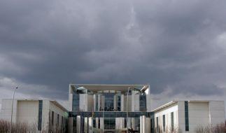 Das Bundeskanzleramt in Berlin (Foto)