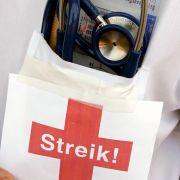 Das gab's noch nie in Deutschland: Ärzte wollen die Arbeit niederlegen.
