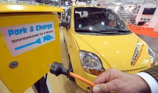 Das Dresdner Elektroauto Citysax ist bereit zum Start. (Foto)