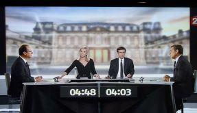 Das erste und einzige direkte Duell zwischen Präsident Sarkozy und Herausforderer Hollande war von A (Foto)