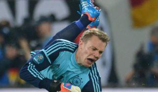 Das EM-Fieber hatte Gerd Gottlob beim Spiel Deutschland-Portugal fest im Griff. (Foto)
