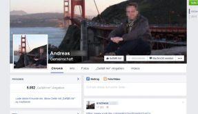"""Das falsche Facebook-Profil von Andreas L. hat bereits mehr als 5000 """"Gefällt mir""""-Angaben. Und stetig werden es mehr. (Foto)"""