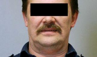 Das Fahndungsfoto der Polizei Köln zeigt den 58-jährigen Straftäter Peter Breidenbach (hier verfremdet). (Foto)