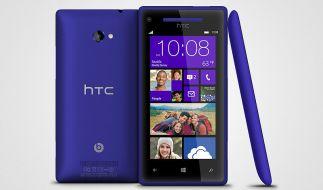Das neue Flagschiff von HTC: Das 8x ist mit einem Windows Phone 8 ausgestattet. (Foto)
