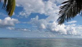 Das französische La Reunion unweit von Madagaskar. (Foto)