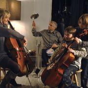 Hausmusik bei den Callenbergs: (von links) Ulrike Grote, Udo Wachtveitl, Andreas Armbrunn und Ludwig Skuras.
