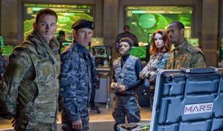 Das G.I. JOE-Team Duke, General Hawk, Breaker, Scarlett, und Ripcord. (Foto)
