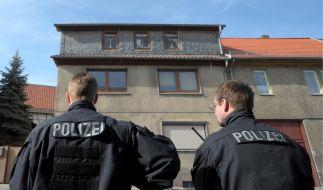 Das Haus des Neonazis und ehemaligen V-Manns Tino Brandt. (Foto)