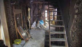 «Das abgebrannte Haus des Schreckens»: Tine Wittlers stinkendster Trümmerhaufen. (Foto)