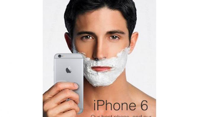 Das iPhone 6 als Rasierer?