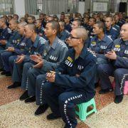 Das Jinjian-Gefängnis in Chengu: Reiche Chinesen kaufen sich immer häufiger Doppelgänger, um ihre Haft zu umgehen.