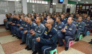 Das Jinjian-Gefängnis in Chengu: Reiche Chinesen kaufen sich immer häufiger Doppelgänger, um ihre Haft zu umgehen. (Foto)