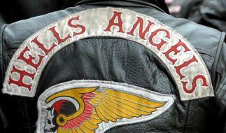 Das Logo des vielerorts verbotenen Hell Angels MC. (Foto)